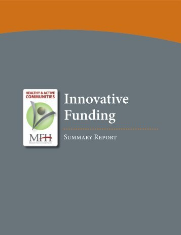 Innovative Funding - Center for Tobacco Policy Research
