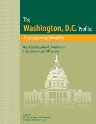 The Washington, D.C. Profile: Focusing on sustainability - Center for ...