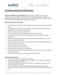 eCommerce Interactive Website Designer