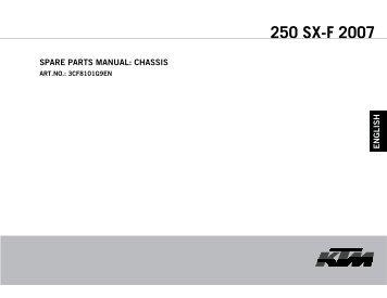 250 SX-F 2007