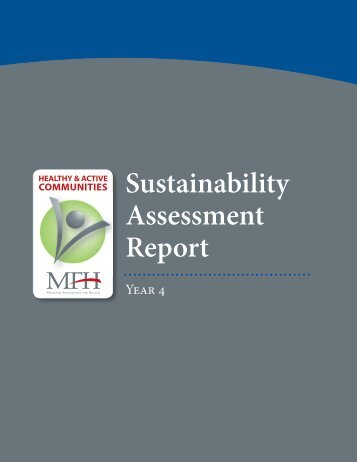 Sustainability Assessment Report - Center for Tobacco Policy ...