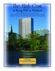 The High Cost of Being Poor in Hartford - HartfordInfo.org