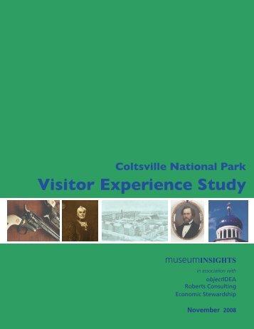 Coltsville National Park Visitor Experience Study - HartfordInfo.org