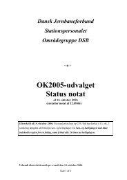 Status notat af 14. oktober 2006 - spdsb.org