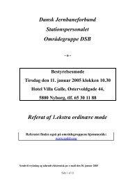 Referat 1. ekstra møde - spdsb.org