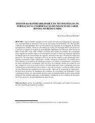 EFEITOS DA RASTREABILIDADE E DA TECNOLOGIA ... - SBIAgro