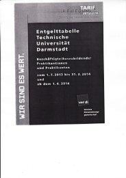Entgelttabelle 2013/2014 - Personalrat