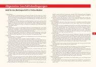 Allgemeine Geschäftsbedingungen - Grafschafter Nachrichten