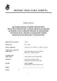 smernica_o_vo - Mesto Stará Ľubovňa