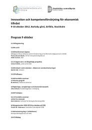 Program_9-10_okt - Entreprenörskapsforum