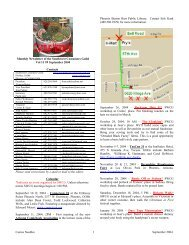 Cactus Needles 1 September 2004 Monthly Newsletter of the ...