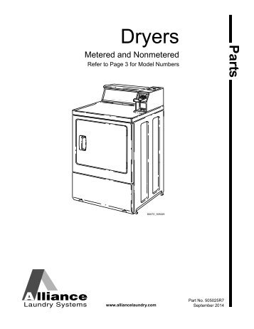 maytag commercial dryer service manual