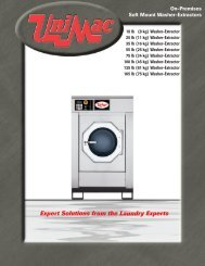 Expert Solutions from the Laundry Experts - UniMac