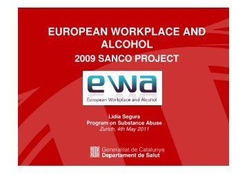 EUROPEAN WORKPLACE AND ALCOHOL - amphoraproject.net