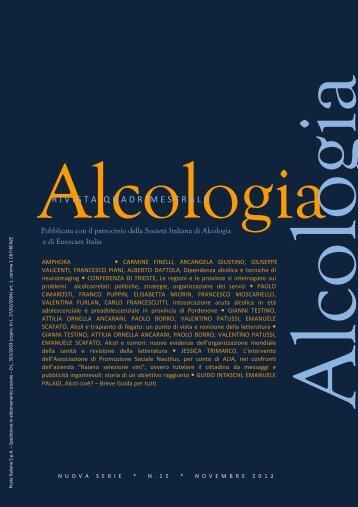 Alcol: manifesto europeo AMPHORA - EpiCentro