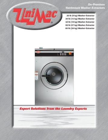 42031 42044 Wp2 Wp3 Washer Extractors Cissell Part Com