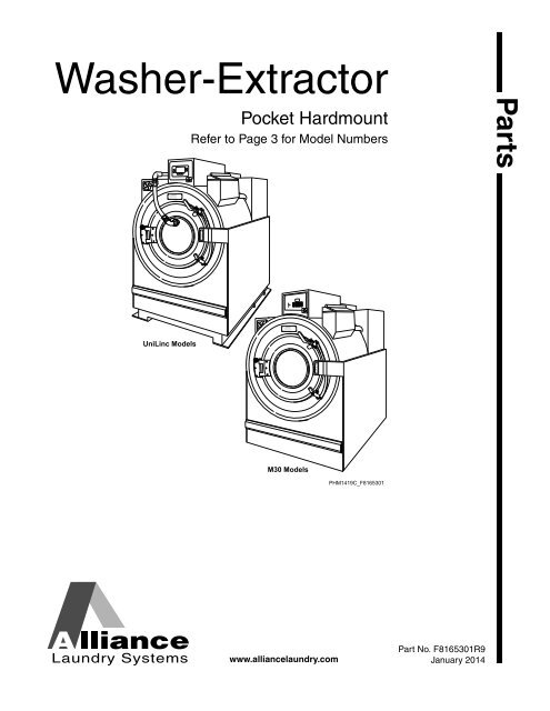 washer extractor parts manual unimac