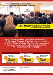 LED Superscreen Advertising - Lima