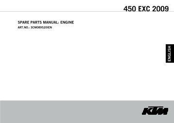 450 EXC 2009 - Cessnock Motorcycles