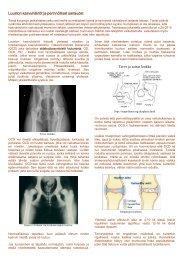 Luuston kasvuhäiriöt ja perinnölliset sairaudet Terve ja sairas lonkka