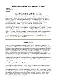 Kesytetty hilleri eli fretti - Historiaa ja hoitoa Kesytetyn hillerin eli ...
