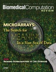 MICROARRAYS: MICROARRAYS: - Biomedical Computation Review