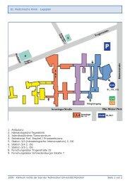 Anfahrt/Lageplan (PDF, 160 KB) - III. Medizinische Klinik ...
