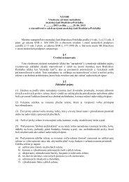 NÁVRH Všeobecne záväzné nariadenie mestskej časti ... - Petržalka