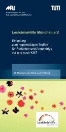Webdatei Flyer - III. Medizinische Klinik (Hämatologie und Onkologie)