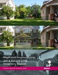2014_Established_Neighbourhoods_Vacant_Land_Inventory_Report