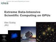 Extreme Data-Intensive Scientific Computing on Gpus