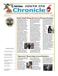 A Publication For Friends And Neighbors Of The South Service