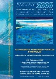 Autonomous Unmanned Vehicles Symposium