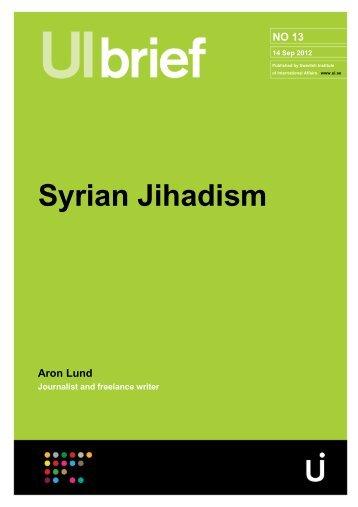 Syrian Jihadism