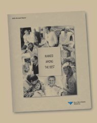 2003 Annual Report - Yale-New Haven Hospital