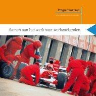 Samen aan het werk voor werkzoekenden - Samenvoordeklant.nl