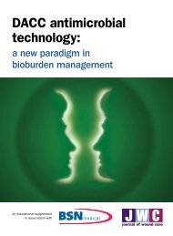 DACC antimicrobial technology: - Cutimed