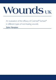 An evaluation of the efficacy of Cutimed® Sorbact® in different types ...