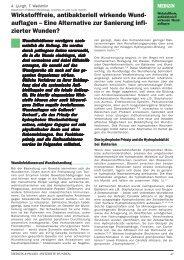 Aktualisierter Artikel Ljungh f.r 2. Auflage MP ... - Cutimed Sorbact