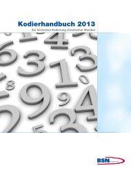 Das Kodierhandbuch 2013 zum Herunterladen - Cutimed