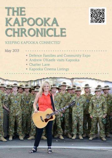 THE KAPOOKA CHRONICLE - Australian Army