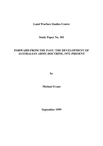 Ibid - Australian Army