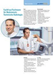 Technische Radiologie - Gesundheitsberufe Bern