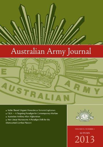 Australian Army Journal