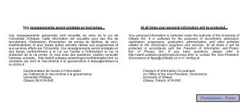 Inscription aux examens — 1 er cycle (reprise, différé) - University of ...