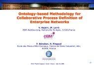 Ontology-based Methodology for Collaborative ... - IFAC TC Websites