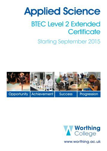 Level 2 applied science or level 3 btech?