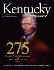 to download the 2009 Kentucky Humanities October Issue.