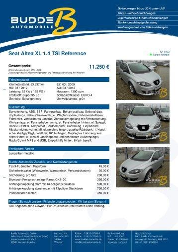 Xl 250 pdf seat altea xl 1 4 tsi reference 11 250 u201a budde automobile pobierz plik pdf fandeluxe Gallery