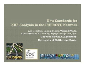 XRF standards